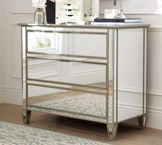 Beautiful Mirrored Dresser