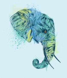 An Elephant Art Collection