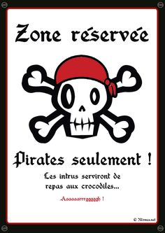 """Pirates solely"" poster to print Deco Pirate, Pirate Theme, Decoration Pirate, Pirate Birthday, Poster S, Happy B Day, Diy For Kids, Party Time, Birthday Parties"