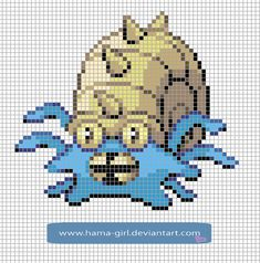 162 Meilleures Images Du Tableau Grilles Pokemones Pixel