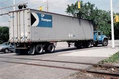 Old Trucks, Semi Trucks, International Harvester Truck, Canadian Pacific Railway, Truck Transport, Steam Generator, Division, Transportation, Train