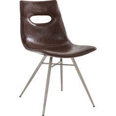 Chair Venice Dark Brown - KARE Design