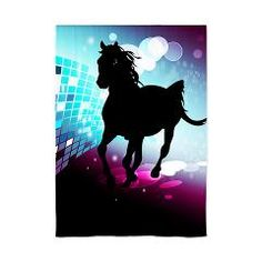 Horse, on CafePress:  The windows have it with these sheer, decorative curtains. Romantic and flowing, these elegant chiffon window treatments finish a room with the perfect statement
