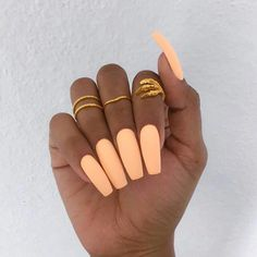 Matte Orange Creamsicle