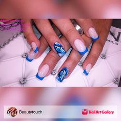 Manicure Paros by Beautytouch via Nail Art Gallery #nailartgallery #nailart #nails #acrylic