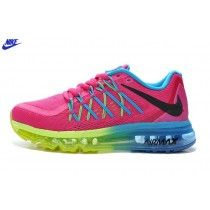 san francisco f596d c4278 Buy Air Max 2015 Women Pink Blue Fluorescent Green Authentic from Reliable Air  Max 2015 Women Pink Blue Fluorescent Green Authentic suppliers.