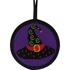 Witch Hat Stitch-Ups Needlepoint Kit Halloween Ornament Alice Peterson http://www.amazon.com/dp/B00IXVR6BY/ref=cm_sw_r_pi_dp_Lhw1vb12T5S69