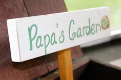 Hey, I found this really awesome Etsy listing at https://www.etsy.com/listing/113525355/personalized-garden-plant-marker-garden