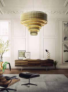 Matheny _Chandelier __ DELIGHTFULL Unique Lamps Www.delightfull.eu Vintage  Lamps Music Inspired Luxury