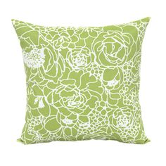 Garden Treasures Lime UV Protected Outdoor Decorative Pillow