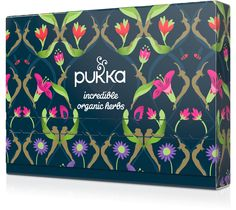 Enjoy 10 of our deliciously tantalising Pukka tea blends for only plus P&P* in a gorgeous Pukka box. We hope you enjoy your Immunity Selection box; Pukka Tea, Selection Boxes, Pick And Mix, Organic Herbs, Tea Blends, Packaging Design, The Incredibles, Gifts, Cosmetics