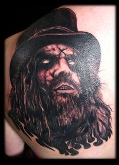 Rob Zombie tattoo