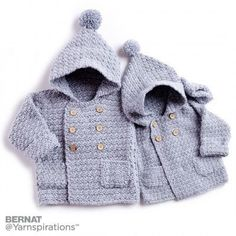 Bernat Big Kid Cozy Crochet Hoodie, Crochet Pattern   Yarnspirations