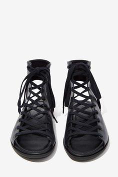 ATELJÉ 71 Fidelio Leather Lace-Ups