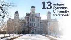A look at the traditions and attractions that make Syracuse University so special.