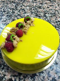Sugarlicious: le cordon bleu - Superior Pastry lesson 2 Entremets à la mangue et à la framboise