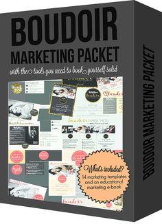 Boudoir Marketing Packet | Boudie Shorts