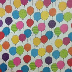 Balloon scrapbook paper
