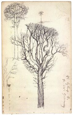 Page from Samuel Palmer sketchbook
