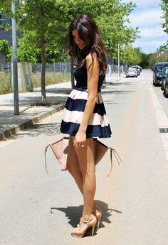 Farabian: Skater Dress
