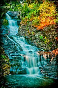 Raymondskill Falls,Pennsylvania: