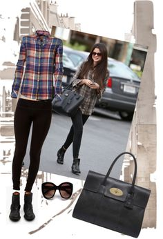 """""""Copy Selena Gomez street style"""" by ungiornopercaso ❤ liked on Polyvore"""