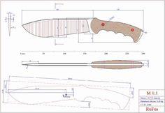Чертежи ножей для изготовления. Часть 2 | LastDay Club image 15