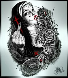Cholos Cholas Calaveras Marihuana Catrinas Charras Payasa Payasos Azteca Art Sketch Tattoo Design, Tattoo Sketches, Tattoo Drawings, Art Sketches, Tattoo Designs, Chicano Tattoos, Chicano Art, Sugar Skull Tattoos, Sugar Skull Art