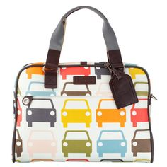 Socially Conveyed via WeLikedThis.co.uk - The UK's Finest Products -   Orlakiely Car Laptop Bag http://welikedthis.co.uk/?p=900