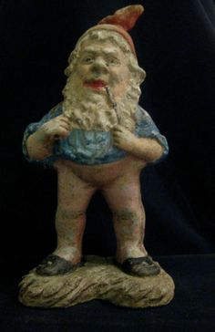 Antique Vintage German Garden Gnome