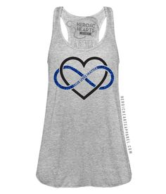 Heroic Hearts Apparel - Custom and unique military and law enforcement love and support apparel. Leo Wife, Proud Wife, Law Enforcement Wife, Law Enforcement Tattoos, Police Wife Life, Police Girlfriend, Police Family, Police Lives Matter, Police Shirts