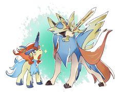 Keldeo and Zacian Pokemon Comics, Pokemon Memes, Entei Pokemon, Pokemon Pins, Pokemon Go, Pikachu, Pokemon Stuff, Creepy Pokemon, Pokemon Fusion Art