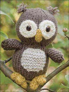 Oliver Owl pattern on #Ravelry