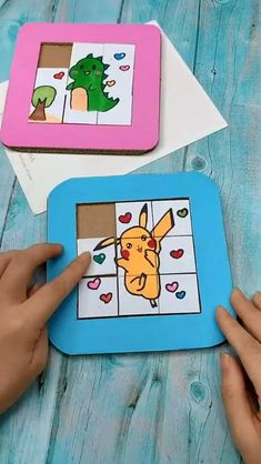 Diy Crafts Hacks, Diy Crafts For Gifts, Diy Arts And Crafts, Fun Crafts, Paper Crafts Origami, Paper Crafts For Kids, Cardboard Crafts, Craft Activities, Preschool Crafts