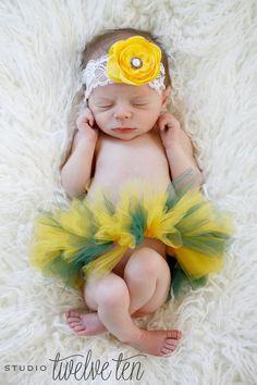 Oregon Ducks - Custom Newborn Tutu