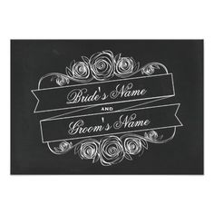 ReviewChalkboard Inspired Rose Banner Wedding RSVP Invitationslowest price for you. In addition you can compare price with another store and read helpful reviews. Buy