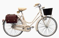 Montante Florence Deluxe bicycle: my dream bike! Velo Retro, Retro Bicycle, Tricycle, Dutch Bike, Go Ride, Cycle Chic, Baskets, Vintage Travel Trailers, Bike Style