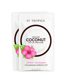 2 Pack of The Ultimate Hair Mask with Coconut Oil - ST. TROPICA