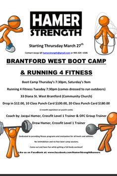 Brantford Ontario Boot Camp!