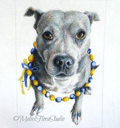Custom Pet Portraits - Original Portraits in Color Pencil  https://www.etsy.com/listing/116669646/custom-pet-portraits-original-portraits
