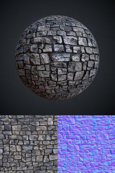 Stone Wall by Leonid-k.deviantart.com on @deviantART