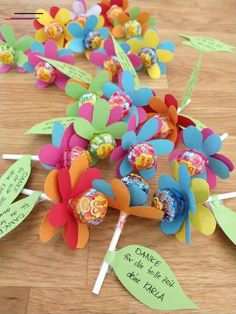 Diy For Kids, Crafts For Kids, Easy Diy Crafts, Baby Birthday, Inspirational Gifts, Flower Crafts, Teacher Gifts, Diy Gifts, Balloons