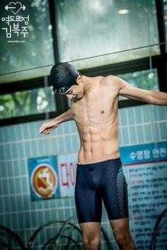 There you go ladies - You are welcome :) Weightlifting Fairy Kim Bok Joo - Jung Joon Hyung (Nam Joo Hyuk) Nam Joo Hyuk Abs, Jong Hyuk, Korean Men, Korean Actors, Nam Joo Hyuk Wallpaper, Joon Hyung, Swag Couples, Kim Book, Park Hae Jin
