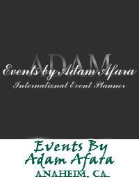 Events By Adam Afara In Anaheim California
