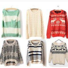 sweaters :)