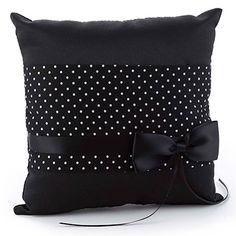 Black Ring Pillows