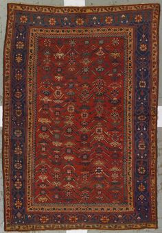 Geordis carpet Anatolia, circa 1900 size approximately 6ft. 10in. x 9ft. 2in.