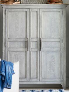 Universal Furniture Coastal Living Boardwalk Wardrobe Armoire | UF833A175 Armoire Wardrobe Closet, Armoire Pantry, Diy Wardrobe, Wardrobe Design, Armoire Redo, Wardrobe Drawers, White Wardrobe, Wardrobe Doors, Small Bedroom Furniture