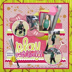 softball - Scrapbook.com