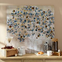 Mysterious Tree Canvas Art Print